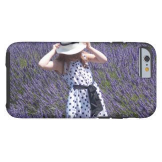 Lavendel-Felder Tough iPhone 6 Hülle