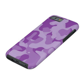 Lavendel Girly Camoflauge iPhone 6 Fall Tough iPhone 6 Hülle