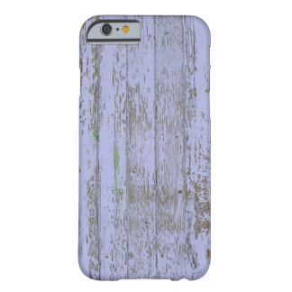 Lavendel-Imitat-Holz-Beschaffenheit Barely There iPhone 6 Hülle