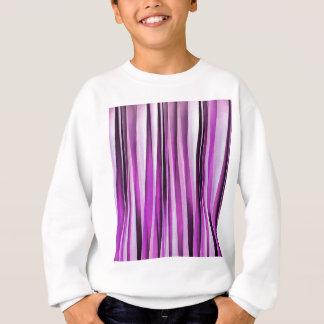 Lavendel-, Iris-und Trauben-Stripy Muster Sweatshirt
