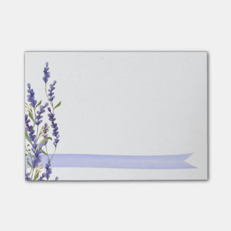 Lavendel Post-it Haftnotiz