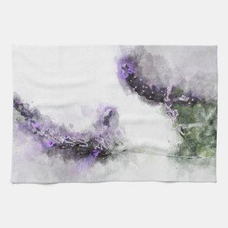 Lavendel-Tee-Tuch Geschirrtuch
