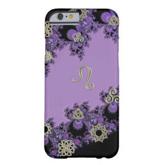 Lavendel Tierkreis-Zeichen-Löwen keltischer iPhone Barely There iPhone 6 Hülle