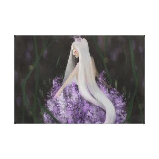Lavendel-Träume Leinwanddruck