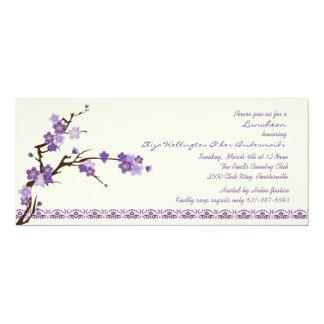 Lavendel verzweigt sich Einladung