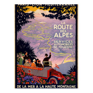 Laweg-DES Alpes Postkarte