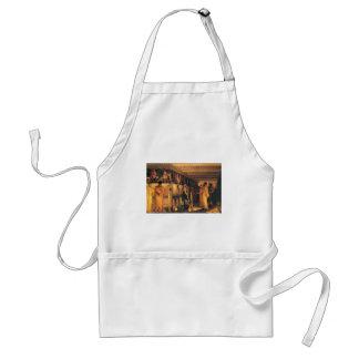 Lawrence Tadema-Phidias montrant la frise aux amis Tablier