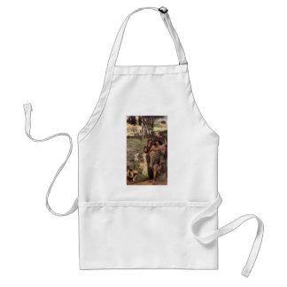 Lawrence Tadema-Sur la route au temple de Ceres Tablier