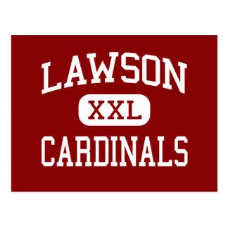 Lawson - Kardinäle - Mitte - Lawson Missouri Postkarte