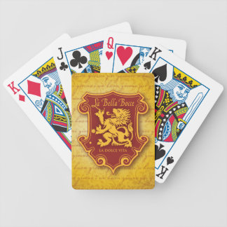 LBB Spielkarten Goldtone