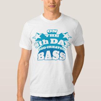 Le 8ème jour Dieu a créé la basse T Shirt