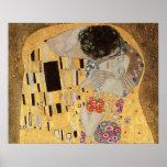 Le baiser, 1907-08 2 affiches