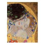 Le baiser, 1907-08 carte postale