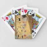 Le baiser, 1907-08 jeu de cartes