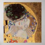 Le baiser, 1907-08 posters