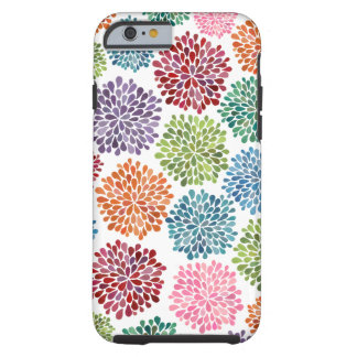 Le beau dahlia fleurit l'iPhone 6 Coque iPhone 6 Tough