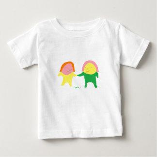 Le bébé mignon jumeau d'Ekmochi T-shirt Pour Bébé
