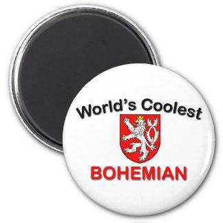 Le bohémien le plus frais magnet rond 8 cm
