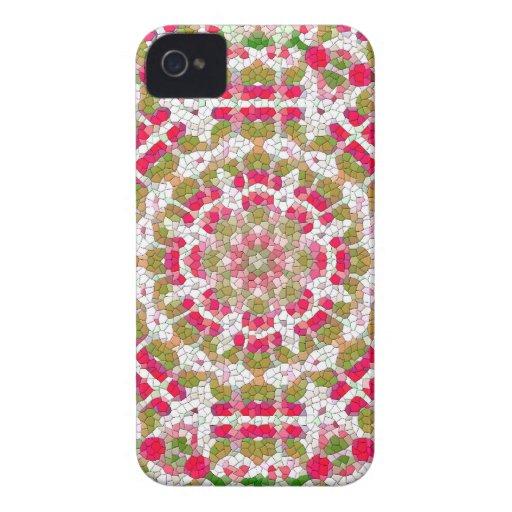 Le cadeau de concepteur de Blackberry des femmes r Coques Case-Mate iPhone 4