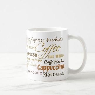Le café boit la tasse de café