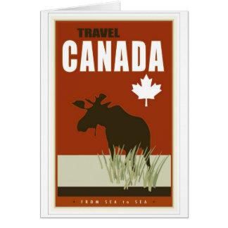 Le Canada Carte De Vœux