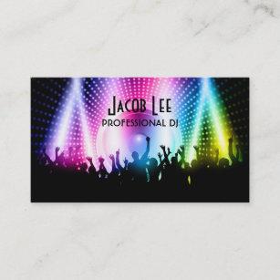 Le Carte De Visite Du DJ Personnes Partie