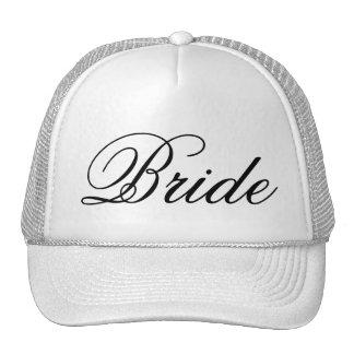 Le casquette du camionneur de mariage de jeune