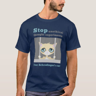 Le chat de Schrodinger libre T-shirt