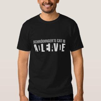Le chat de Schrodinger Tshirts