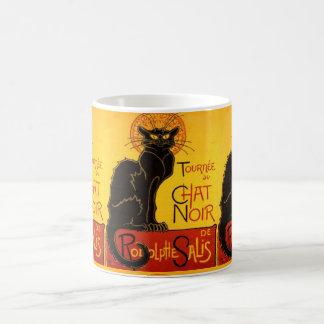 le chat noir, Kunst Nouveau Tasse