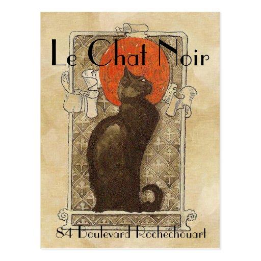 Le Chat Noir Postkarten