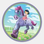 Le cheval rêveur d'Adrian Autocollants