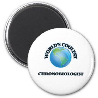 Le chronobiologiste le plus frais du monde magnets pour réfrigérateur