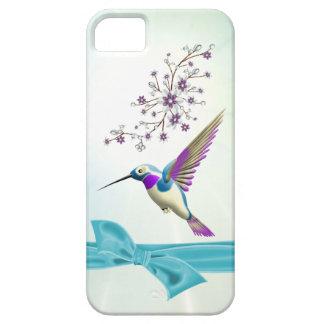 Le colibri fleurit l'iPhone 5 de Coque-Compagnon d Coque iPhone 5 Case-Mate