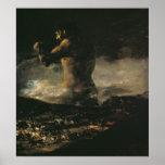 Le colosse, c.1808 posters