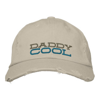 le cool de papa a brodé le casquette affligé par p chapeaux brodés