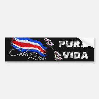 Le Costa Rica Pura Vida ! Autocollant De Voiture