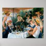 Le déjeuner de Renoir de la partie de canotage (18 Posters