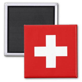 Le drapeau de la Suisse Magnets Pour Réfrigérateur