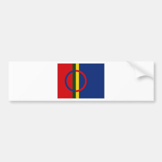 Le drapeau de Sami Autocollant De Voiture