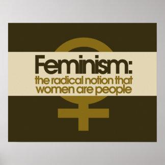 Le féminisme posters
