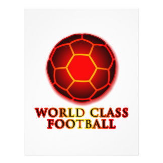 Le football de classe du monde prospectus
