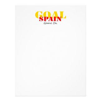 Le football de l Espagne Prospectus En Couleur