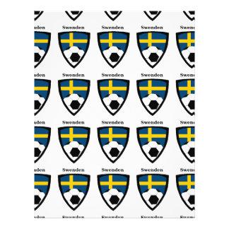 Le football de la Suède Prospectus Personnalisés