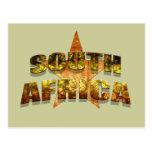 Le football de l'Afrique du Sud Carte Postale