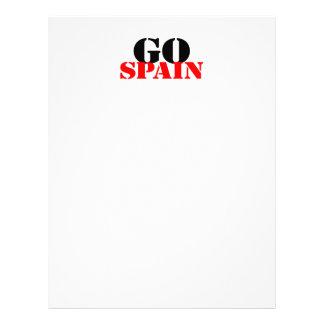 Le football de l'Espagne Prospectus Avec Motif