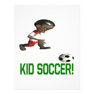 Le football d'enfant prospectus en couleur