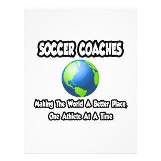 Le football donne des leçons particulières… à fair prospectus en couleur