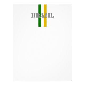 Le football du Brésil Prospectus Personnalisés