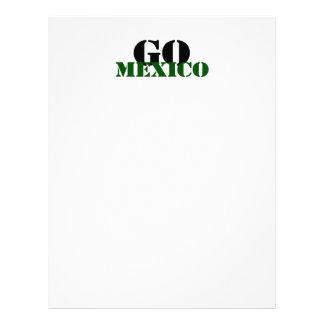 Le football du Mexique Tract Personnalisé